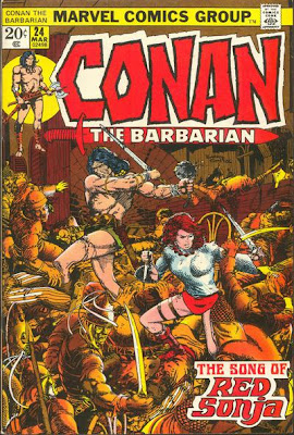 Conan the Barbarian #24, Red Sonja