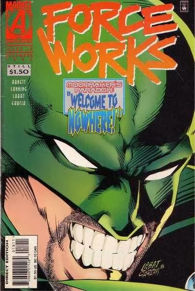 Force Works 18 Cover Moonraker
