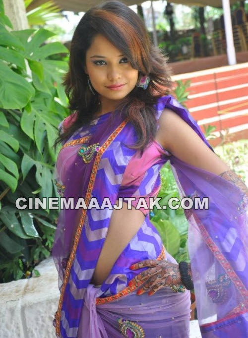 Neha South Hot Exclusive In Sari PhotoShoot Images