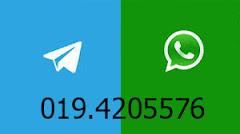 whatsapp/telegram