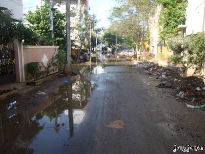 Raining in Velachery