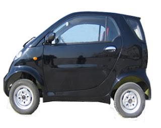bavia black modal electric car