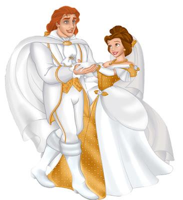principe y princesa disney