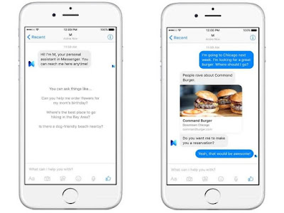 Facebook Unveils 'M' Virtual Assistant for Messenger