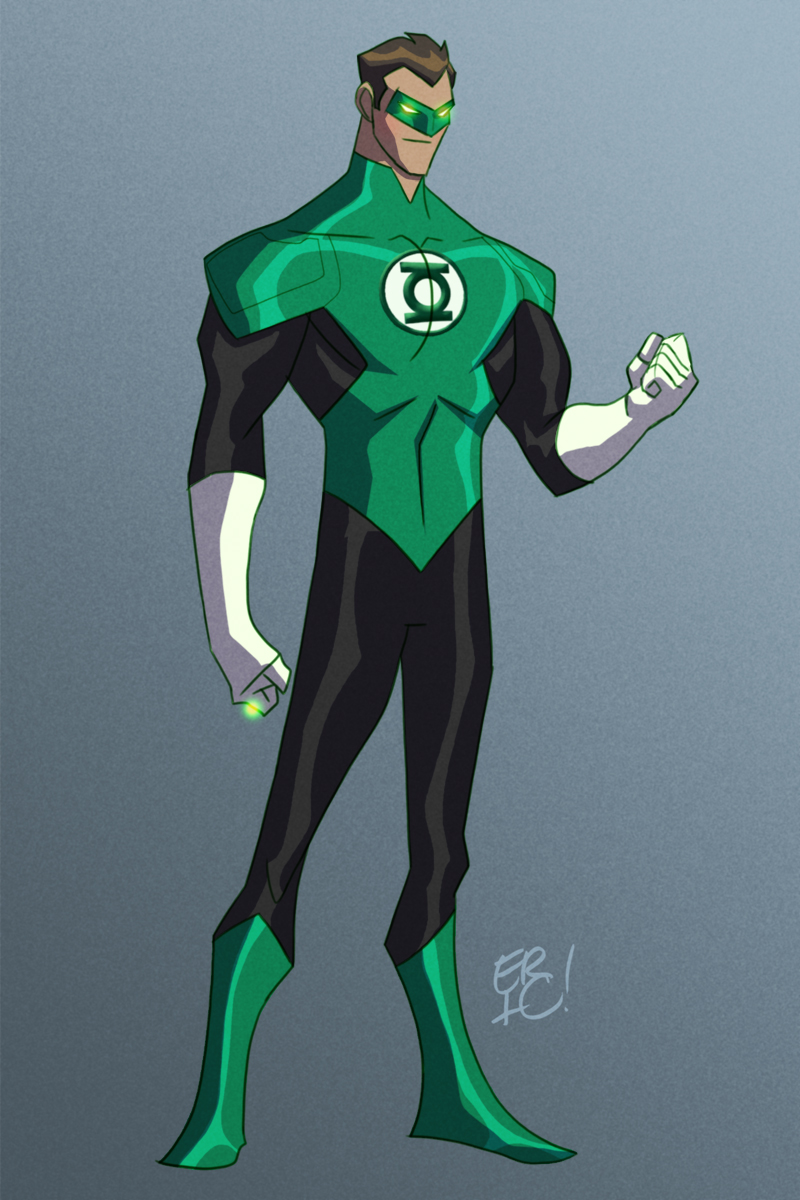 My Take on the New 52 Green Lantern!! I hope you like my take on him!! Justice League Unlimited Cyborg