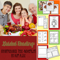 November Guided Reading