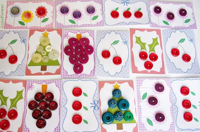 Les boutons de Cocoflower.net