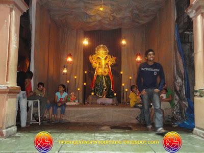 Elephant God Ganesha - Ganesh Chaturthi Festival Surat City - 2011
