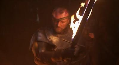 Beric Dondarrion y su espada llameante - Juego de Tronos en los siete reinos