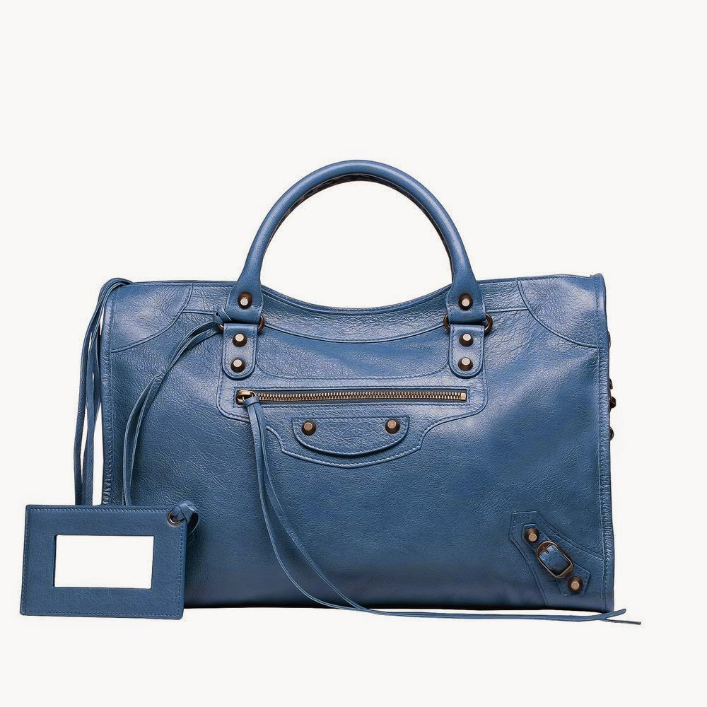 Balenciaga-Classic-City-Bleu-Persan-Handbag