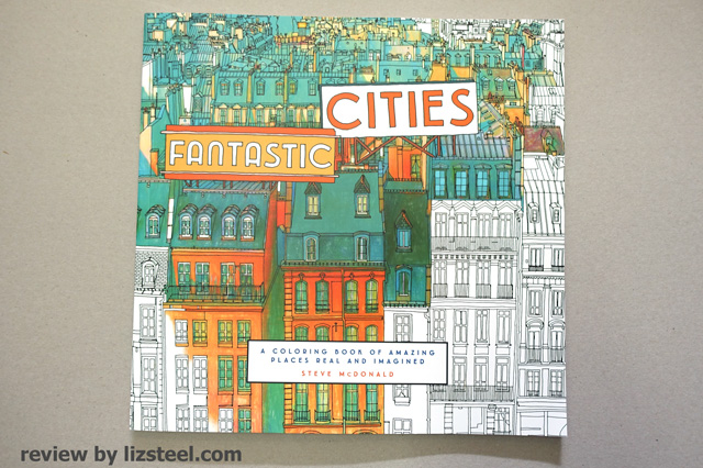 The Fourth Book Fantastic Cities By Steve McDonald Is Wow This Has Really Gotten Me Excited And Itching To Start Colouring In
