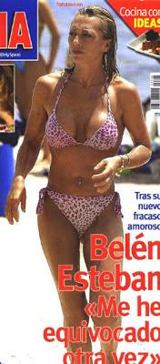 bikini joven belen esteban semana