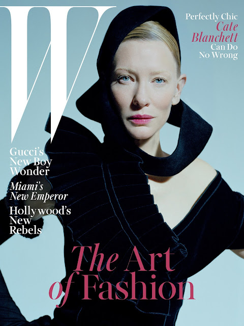 Actress, @ Cate Blanchett by Tim Walker for W Magazine, December 2015
