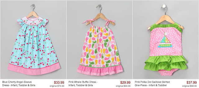 Girls Spring dresses from Zulily #cbias
