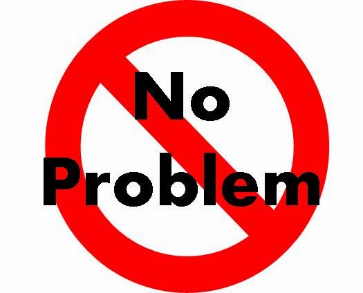 "Please stop saying ""No problem"""