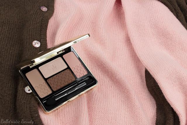 Guerlain Les Sables 15 Ecrin 4 Colors Quad Eyeshadow Palette, Kiss Kiss Collection, Fall 2014
