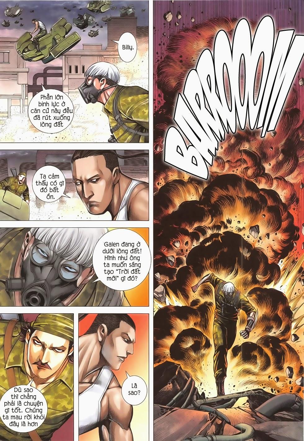 Đại Quân Phiệt chap 53 - Trang 6