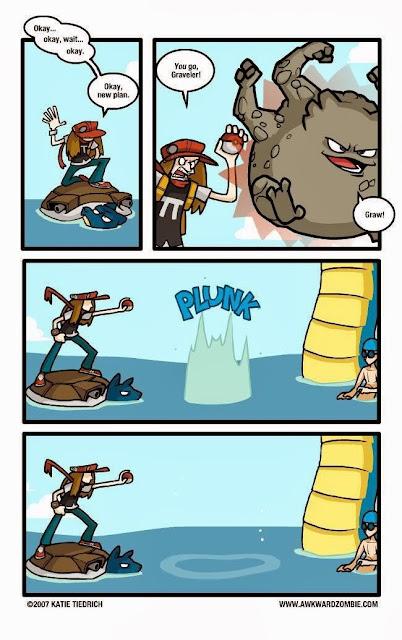 Lógica Pokemon: Graveler contra Gyarados