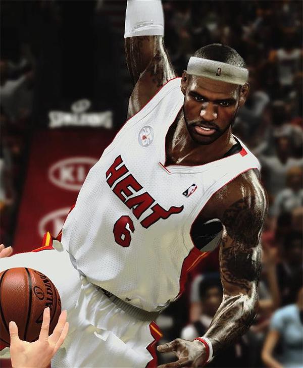 NBA 2K13 LeBron James Cyberface Patch - NBA2K.ORG