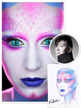 harajuku makeup tutorial. A makeup tutorial for Katy