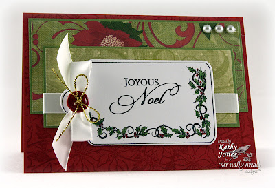 "Our Daily Bread designs ""Christmas Tag Bundle"" Designer Kathy Jones"