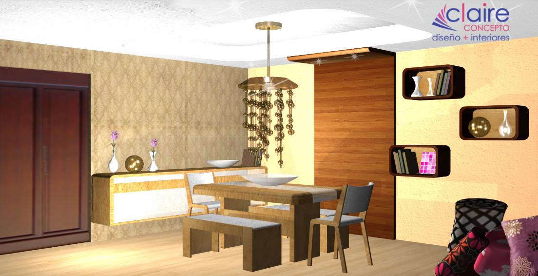 Dise o de comedor contempor neo plafones e iluminaci n - Decoracion iluminacion de interiores ...