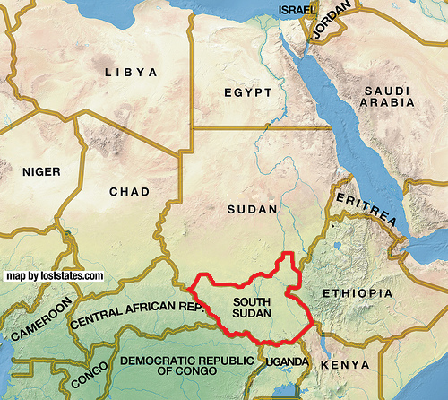 Birth Of A Nation South Sudan Gains Independence - What continent is sudan in