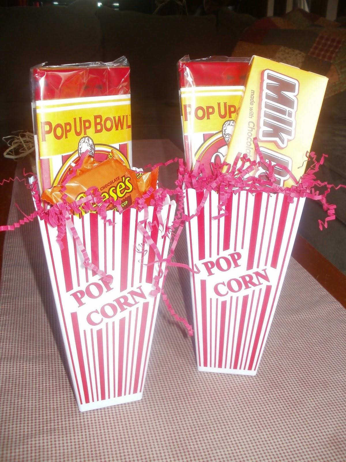 more handmade christmas popcorn gift basket
