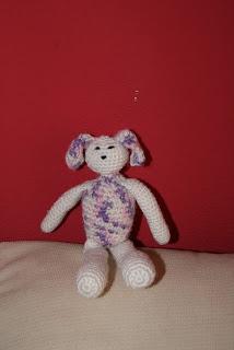 Perrita de crochet