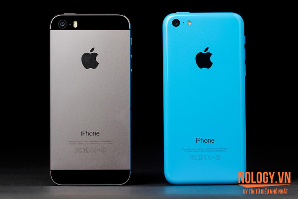 điện thoại iPhone 5c và iPhone 5