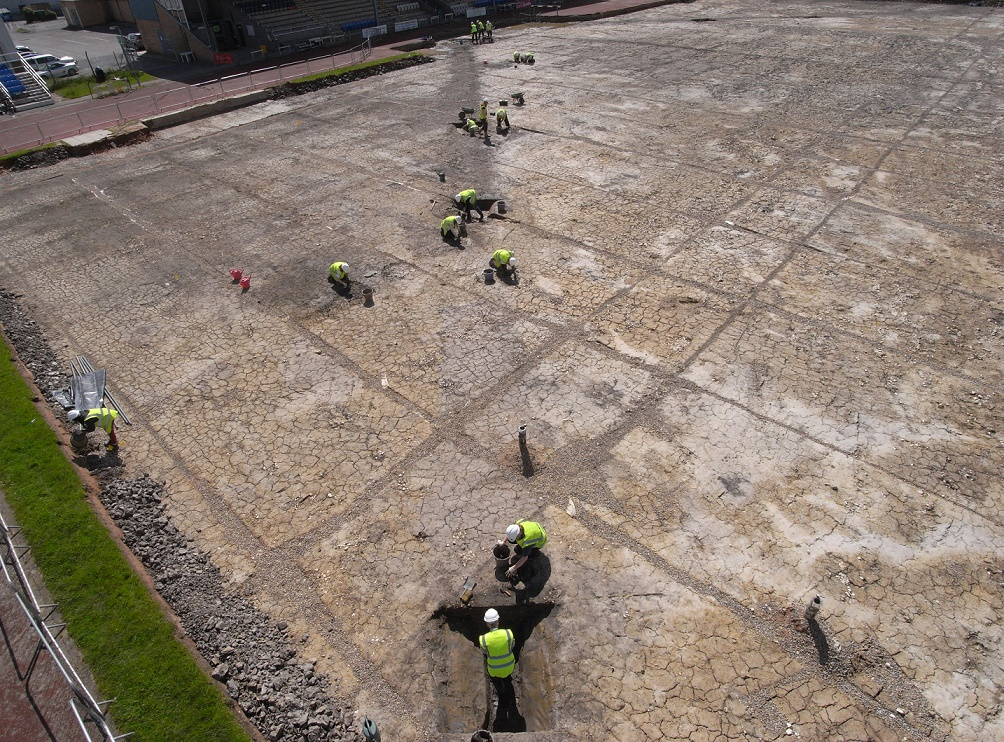 Roman camp found at sports stadium dig in York