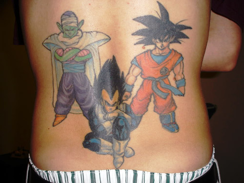 Dragon Ball Z Gibi Girls Tattoos