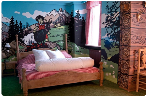 Top 9 Coolest Themed Hotel Rooms In The World World