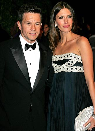 Mark Wahlberg With Wife