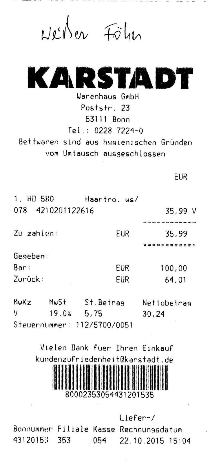 Großartig Kassenzettel Vorlage Galerie - Beispiel Business ...
