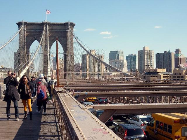 dove inizia il ponte di brooklyn