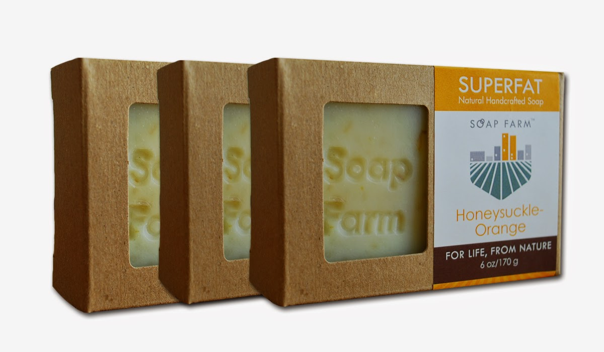 SOAP FARM feature & promo on Shop Small Saturday Showcase at Diane's Vintage Zest!