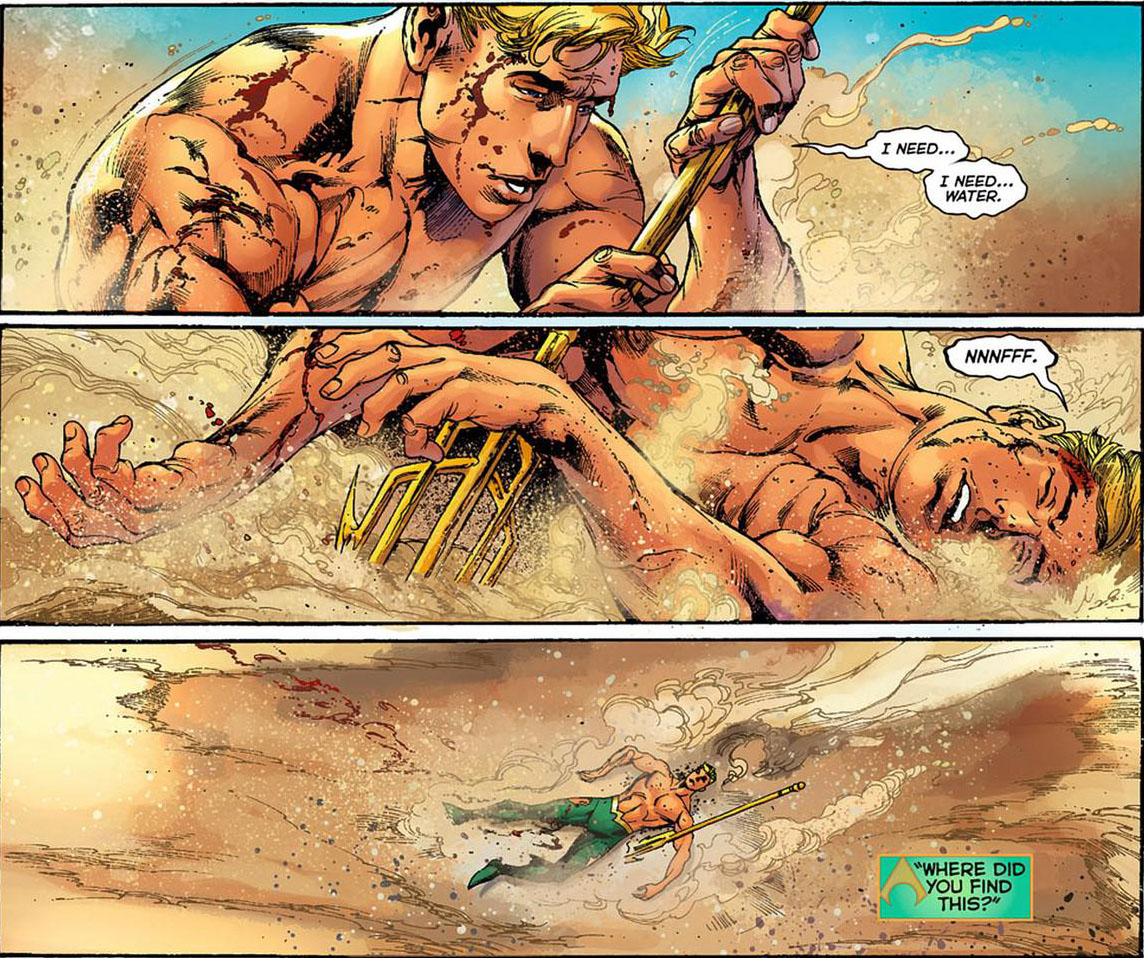 aquaman in the desert, sucks