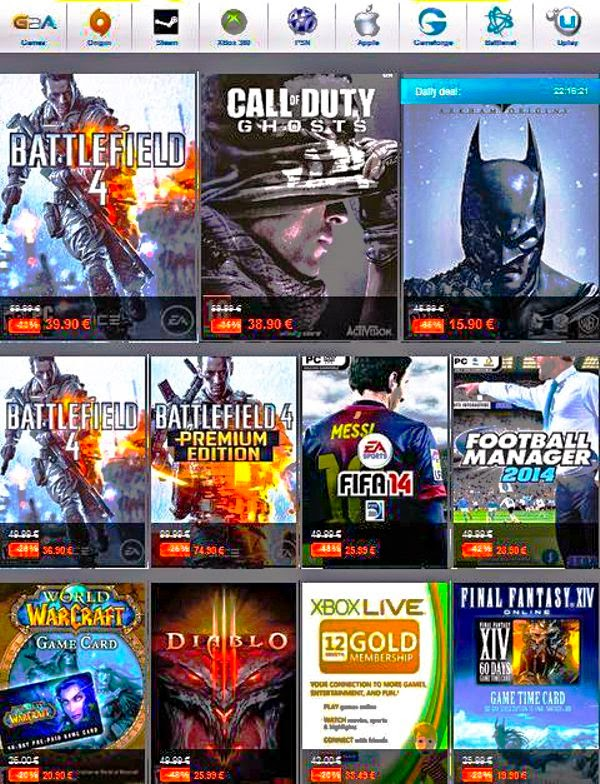 Cheapest Newest Games