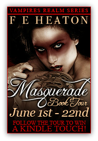 Masquerade Book Tour: Character Interview with Felicity Heaton & Giveaway