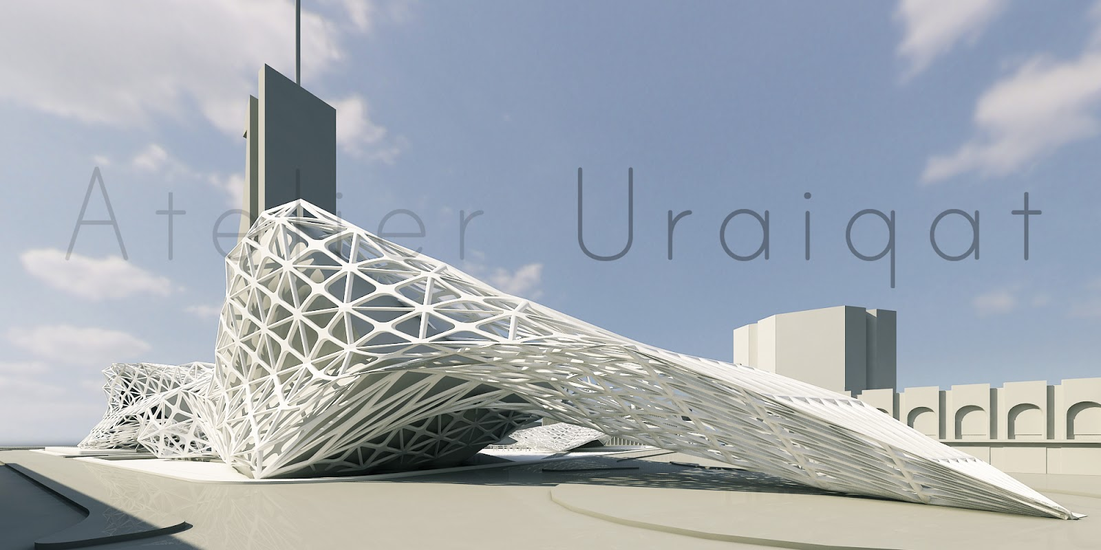 Atelier uraiqat cyborg architects the effect of digital for Architecture and design