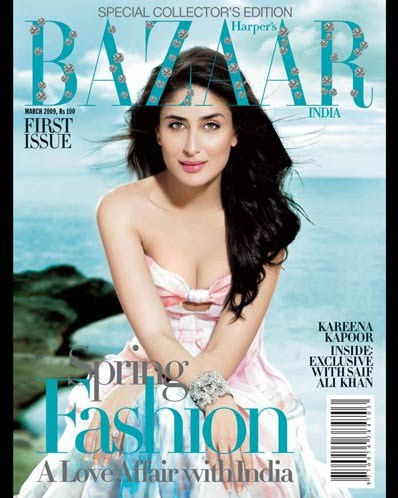 , Harper's Bazaar India Cover Scans