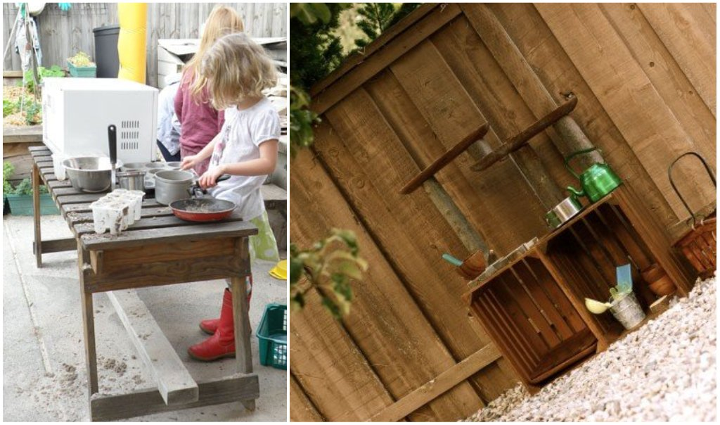 let the children play mud pie kitchen roundup. Black Bedroom Furniture Sets. Home Design Ideas