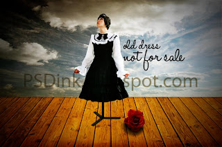 Photomanipulation: Old Dress Not For Sale