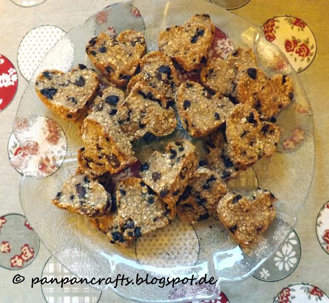 Recipe: Best Friends Oatmeal Hearts / Rezept: Beste Freunde Haferflocken Herzen | http://panpancrafts.blogspot.de/