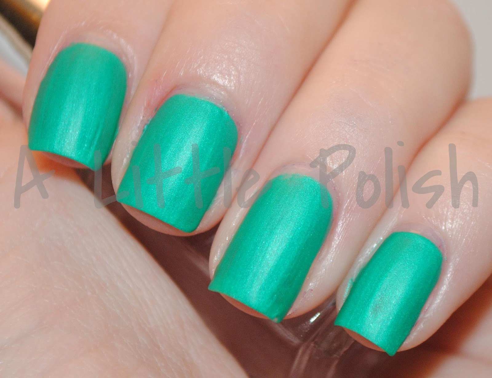 A Little Polish: China Glaze - Turned Up Turquoise