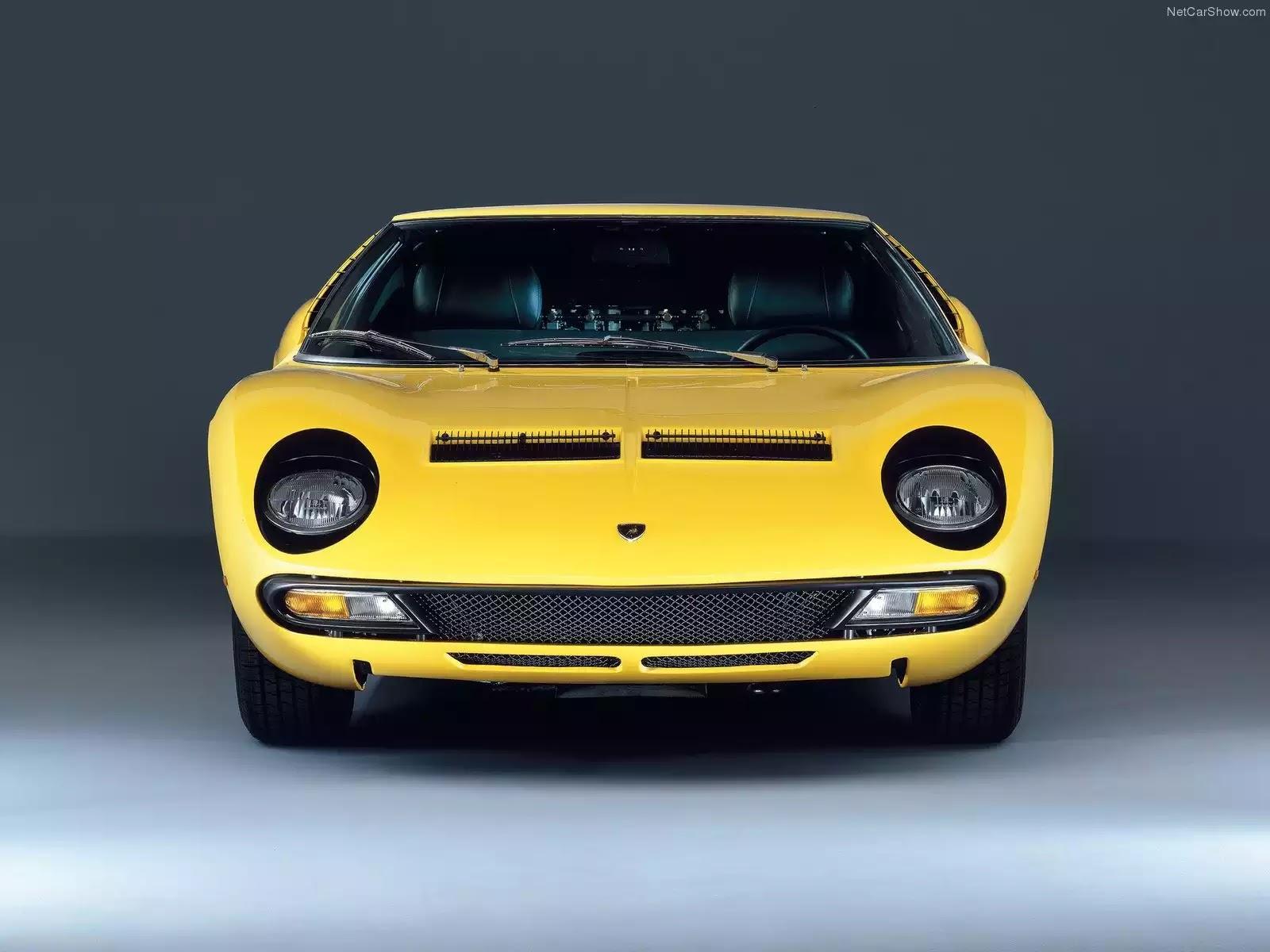 Hình ảnh siêu xe Lamborghini Miura SV 1971 & nội ngoại thất