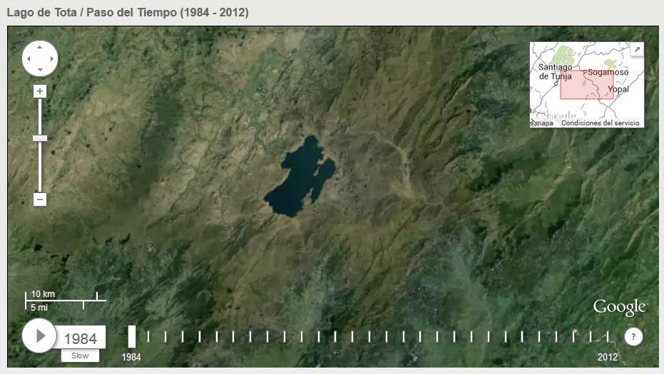 Paso del Tiempo (1984-2012), Lago de Tota