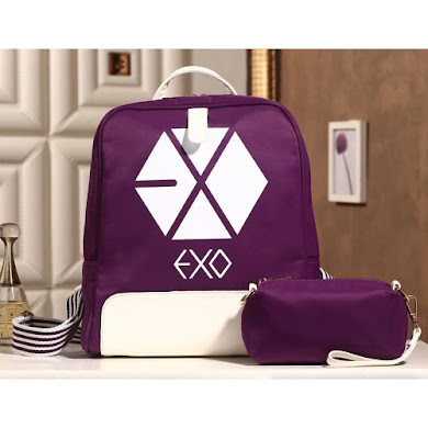 AAA K-POP EXO SERIES BACKPACK (PURPLE)