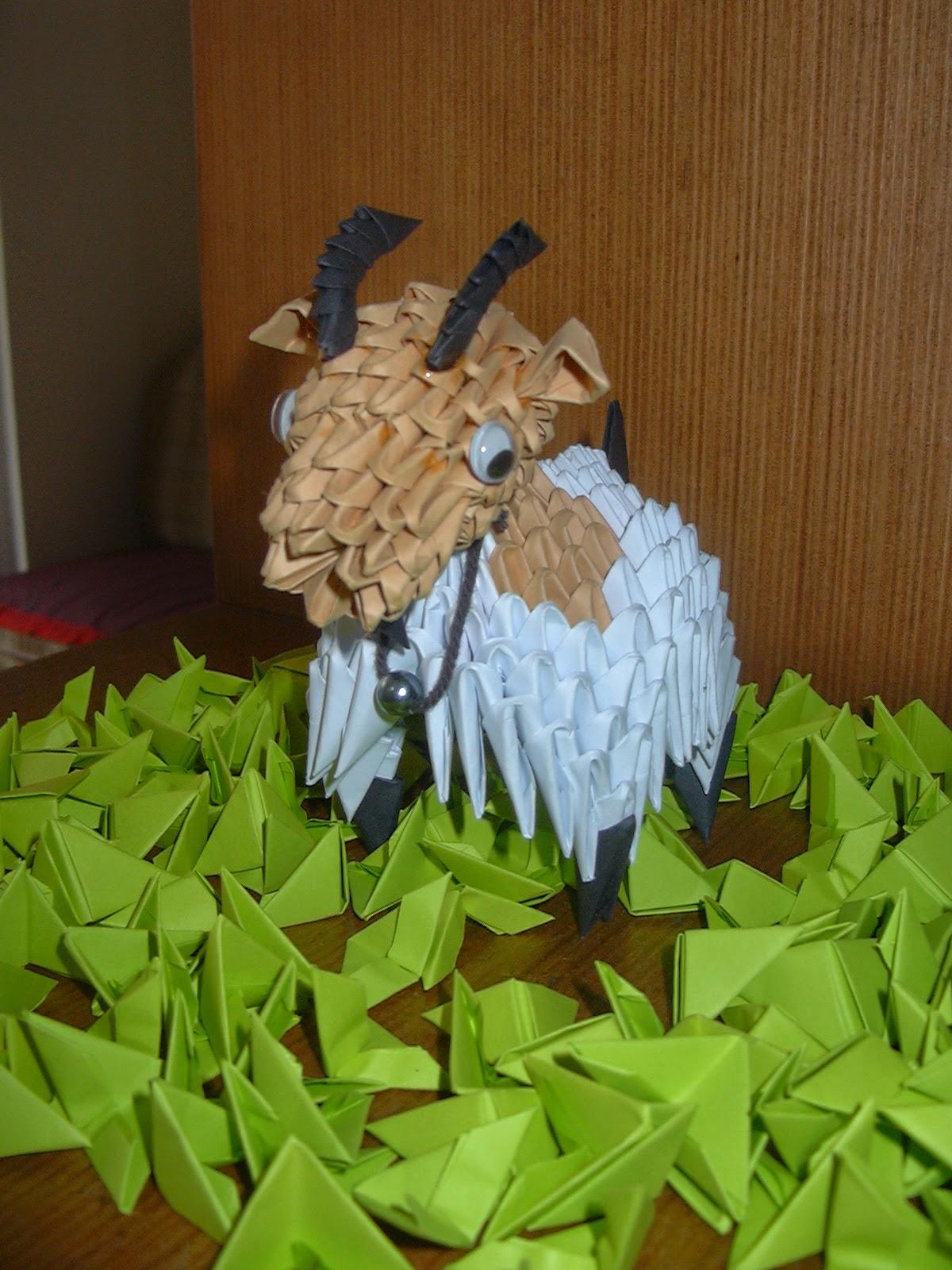 ICHANOKO 3D ORIGAMI INDONESIA: Model 3d origami - ANIMALS - photo#7